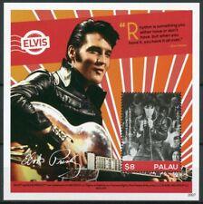 More details for palau elvis presley stamps 2020 mnh his life in stamps 1v s/s ii