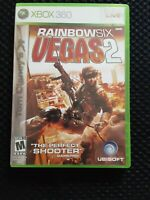 Tom Clancy's Rainbow Six Vegas 2 For Xbox 360 6 Shooter Preowned No Manual