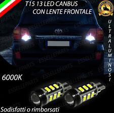COPPIA LAMPADE RETROMARCIA 13 LED T15 W16W CANBUS TOYOTA LAND CRUISER 200