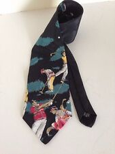 American Sports 56 inch Golf Tie Multi-Color Novelty Polyester Wide