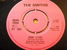 "THE SMITHS - ASK  7"" VINYL"