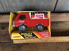 Vintage 1983 Buddy - L Metal Coke Delivery Truck 420 K In Box