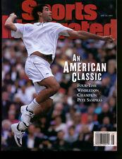 1997 Pete Sampras Sports Illustrated No Label Newsstand 7/14/97 Ex