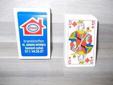 Oude boek speelkaarten - ESSO M. Umans-Winters Hamont - compleet met jokers !!
