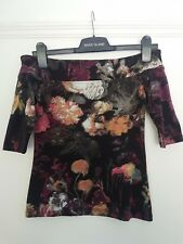 Womens river island size 8 Top