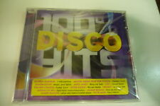 100% DISCO HITS CD NEUF GLORIA GAYNOR IMAGINATION CHIC CLAUDE FRANCOIS TRAMMPS.