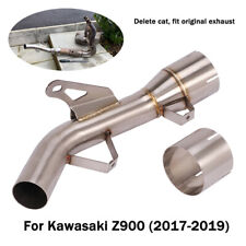 Catalyst Pipe For Kawasaki Z900 2017-2019 Motorcycle Exhaust Mid Link Tube Slip