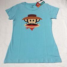 New Women's Paul Frank T-shirt, Blue Size Small Or Medium