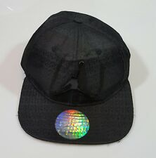 2232aec856a70f NIKE AIR JORDAN CAP HAT BLACK GREY JUMPMAN YOUTH 23 SNAPBACK