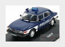 Saab 99 Poliisi 1974 Blue White EDICOLA 1:43 ED7598014