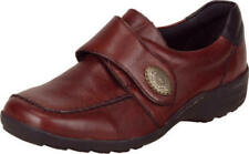 Ladies Casual Touch Fastening Shoes Remonte D0500 - 14 Red Combi UK Size 6.5