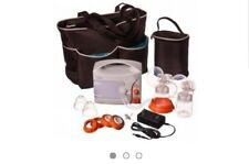 Hygeia, EnJoye Cordless Double Electric Breast Pump, Diaper Bag, Extra Parts