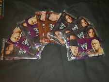 x10 WWE FACE OFF Sealed Booster Packs 2007 Topps