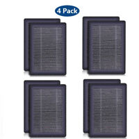 4x Air Purifier JR6 Replacement Filter, H13 True HEPA Activated Carbon Filters