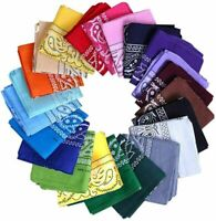PAISLEY BANDANA MOUTH PROTECTION HEADBAND HEAD WEAR WRAP BAND SCARF NECK