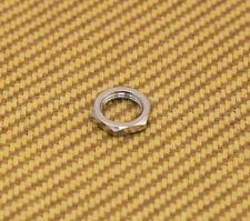 005-5116-000 (1) Schaller Chrome Guitar/Bass Straplock Strap Lock Nut
