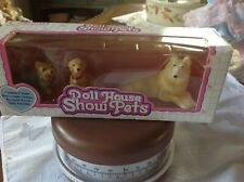 1992 Horsman Doll House Family Dog Set 3 Dogs MIB