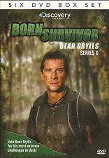 BORN SURVIVOR BEAR GRYLLS SERIES 6 - SIX DVD BOX SET