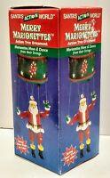 Merry Marionettes Santa Action Tree Ornament NEW dances 2002 Kurt Adler
