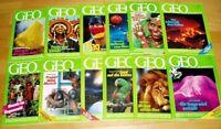 GEO Zeitschrift 1992 komplett Bild der Erde Jahrgang 12 Hefte Sammlung Natur