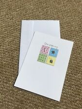 Paper House Baby's Christening Card Boy Or Girl New Excellent Quality Card
