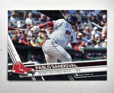 2017 Topps Black #392 Pablo Sandoval /66 - NM-MT