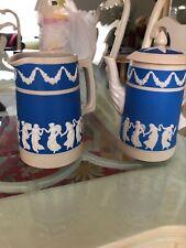 Copeland Spode Jasperware Pitcher Teapot Marlboro Blenheim Hotel Atlantic City