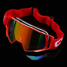 Red Frame Motorcycle Motocross ATV MX Dirt Bike Off Road Racing Goggles Glasses