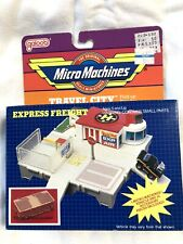 1980s Galoob Micro Machines EXPRESS FREIGHT Playset NEW IN BOX!!