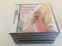 Imagine: Movie Star (Nintendo DS, 2008) DS NEW