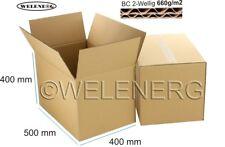 1 x 500x400x400 mm Faltkartons Versandkarton Postkarton 2-wellig BC-660g/m2
