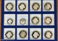Coin Münzen Sammlung Feinsilbermedaillen aus 999 Silber 40 Jahre Deutschland