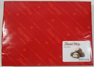 New 1LB Box of Fannie May Buckeyes Candy Chocolate & Peanut Butter Candies 16oz