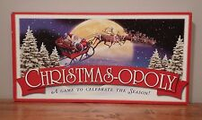 Christmas-Opoly Christmas Monopoly Late for the Sky 6 pcs Collectible COMPLETE