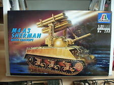 Modelkit Italeri Sherman M4 A3 with Calliope on 1:35 in Box