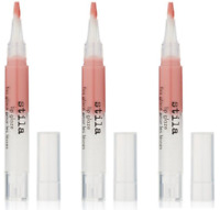 Stila Lip Glaze, Apricot, 0.08 oz, BRAND NEW (3 Pack)