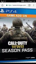 call of duty ww2 ps4 season pass