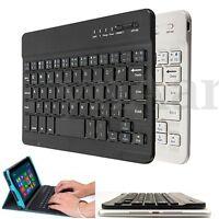 Slim Aluminum Wireless Bluetooth Keyboard For Macbook iPhone iPad PC Tablet