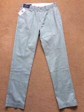 """POLO RALPH LAUREN MEN'S dritto Green Pantaloni Chino Pantaloni, alto, W32"""", L34"""", £ 110."""