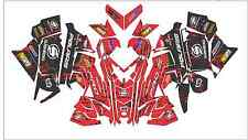 POLARIS AXYS WRAP decal GRAPHIC 800 600 PRO X S RUSH 120 137 switchback 120 137