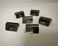 Pack of 6 Metal Clips To Be Used With Internal In Channel Wind & Rain Deflectors