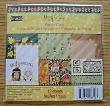 """Mary Engelbreit """"Be Grateful"""" Fall Paper Pack - 2013 Mary & Co."""