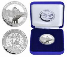 """BELGIQUE 10 € Euro 2010 """"100 Ans Musée Royal de l'Afrique"""" QP PROOF *Argent*"""