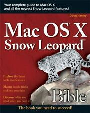 Mac OS X Snow Leopard Bible, Mark Hattersley, Galen Gruman, Good Condition, Book