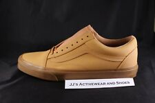 NIB VANS OLD SKOOL (VANSBUCK) Light Gum Mono Skate Shoes Men's SZ 13 VN0A38G1OTS