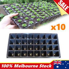 10x 32 Hole Seedling Starter Tray Plant Seed Grow Box Insert Propagation Nursery