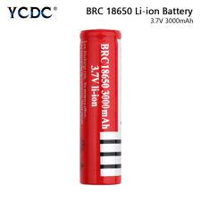 Batería Recargable Brc 18650 3.7V 3000mAh para Mini Ventilador Interphone ddae Antorcha