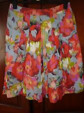 Marks and spencer Per Una size 10 multicoloured, orange, floral, flowery, skirt