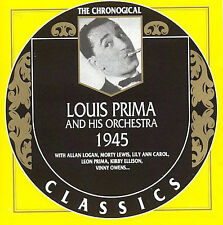 1945 by Louis Prima & His Orchestra-CLASSICS CD NEW