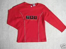 Absorba ♥ manga larga-shirt ♥ rojo ♥ talla 104 ♥ nuevo ♥